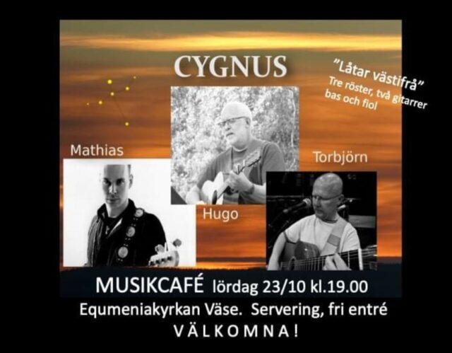 Musikcafé med Cygnus